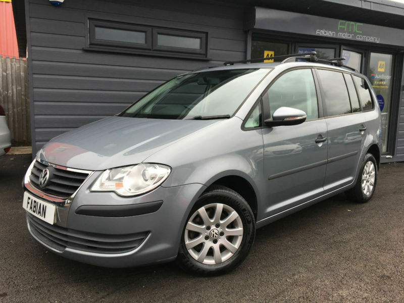 2010 volkswagen touran 1 9tdi grey 7 seater full service. Black Bedroom Furniture Sets. Home Design Ideas