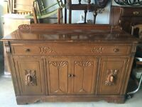 VARIETY OF ANTIQUE sideboards