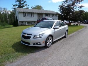 2011 CHEV CRUZE RS - ONLY 61,000 KM  $7995. CERT & E-TESTED