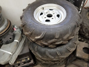 2003 yamaha 660 grizzly rims
