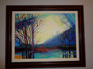 Original Diana Barr Oil Painting
