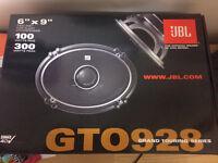 """JBL GTO928 6x9"""" speakers- new"""