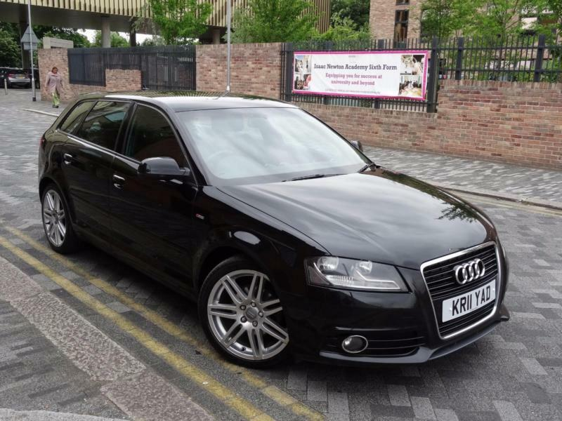 audi a3 2 0 tdi s line sportback 2011 11 in ilford london gumtree. Black Bedroom Furniture Sets. Home Design Ideas