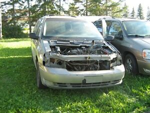 04-06 Ford Freestar for parts just ask