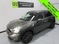 2012 62 MINI COUNTRYMAN 2.0 COOPER SD 141 BHP DIESEL BUY FOR ONLY £40 A WEEK