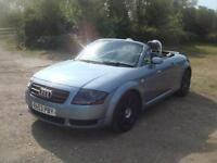 fAudi TT Roadster 1.8 ( 150bhp ) Roadster T, 110k. f.s.h, LOVINGLY MAINTAINED
