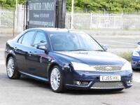 Ford Mondeo 3.0 V6 ST220, 2005,Hatch Blue, 6 Months AA Warranty, FSH
