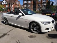 BMW 3 SERIES 2.0 320d M SPORT (white pearlscent mineral metal) 2011