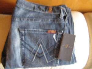 7 For All Mankind Designer Jeans New With Tags Size 32