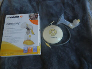 Medela Swing Breast Pump and Medela Harmony Manual Breast Pump