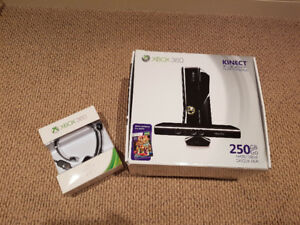 Barely used XBOX 360 with KINECT 250G