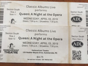 Queen: A night at Opera tickets