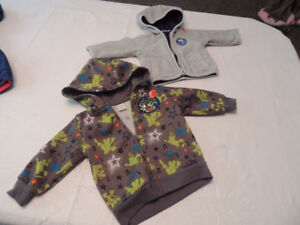 Assorted Jackets and Sweaters