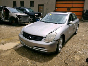 2003 Infini G35, for parts ONLY