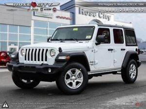 2018 Jeep Wrangler Unlimited Sport 4x4  - Uconnect