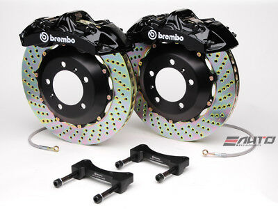 Brembo Front GT Brake 6pot Black 355x32 Drill Disc BMW F20 F21 F22 F30 F32 F33