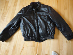 Motorcycle Leather Jacket - Insulated