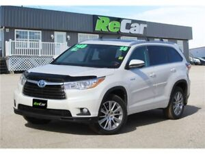 2014 Toyota Highlander Hybrid XLE REDUCED | HEATED LEATHER | NAV
