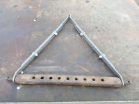 Grey Ferguson link bar stabilisers plus 9 hole bar fully adjustable