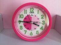 Children's alarm clock. Nearly new!