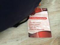 Single self inflating camping mat