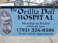 Free Doll Repair Appraisal!! - The Orillia Doll Hospital