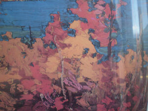 "Tom Thomson - "" Autumn Foliage ""-  Limited Edition Print - Kitchener / Waterloo Kitchener Area image 8"