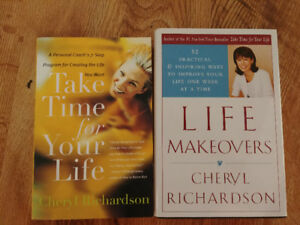 Cherly Richardson books - $3 each or $5 for both