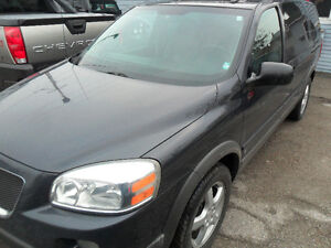 2009 Pontiac Montana SV6, DVD safety and e-tested only,156000kms