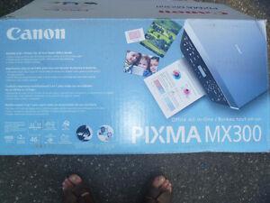 Canon Pixma MX300 Office All-On-One Inkjet Printer