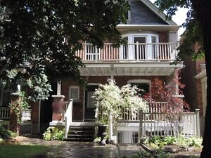 Two bedroom lower level apt in Roncesvalles High Park