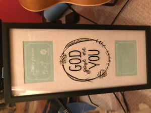 """""""God gave me you"""" picture frame"""