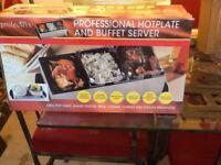Prolectrix hotplate and buffet server