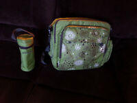 Diaper Bag + Baby Bottle Thermos