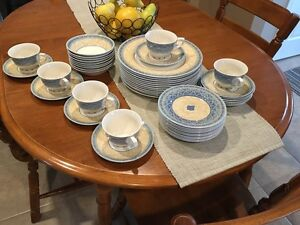 English China Churchill Ports of Call Dish Set