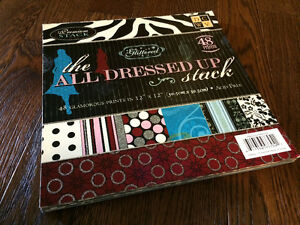 Assorted Scrapbooking Paper