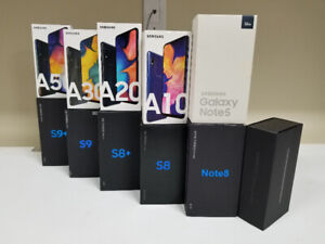 NEW Samsung A10 A20 A30 A50 A70  S9 and Like New  also available