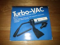 Turbo-Vac Battery powered vaccum