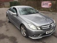 Mercedes-Benz E250 2.1 CDI B/E AMG Sport AUTOMATIC COUPE,HPI CLEAR,1 OWNER,XENON