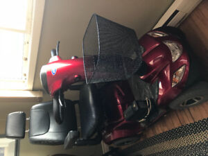 Red scooter - just like new!