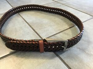 BROWN LEATHER BELT SIZE 40