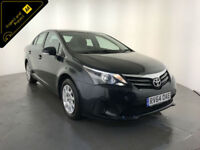 2014 64 TOYOTA AVENSIS ACTIVE VALVEMATIC 1 OWNER SERVICE HISTORY FINANCE PX