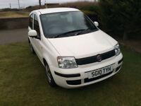 2010 10 Fiat Panda 1.1 Active ECO Petrol White 5 Door MOT March 2019.