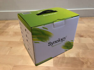 Synology DiskStation DS213j NAS with 2 x 2TB drives