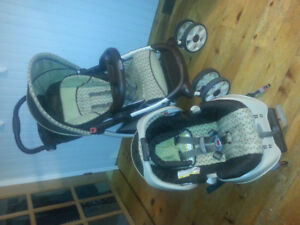 Graco duo stroller and carseat with base