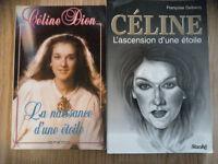 2 livres biographique de CÉLINE DION