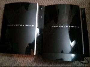 Original Xbox, PS2 & two PS3s for parts/repair