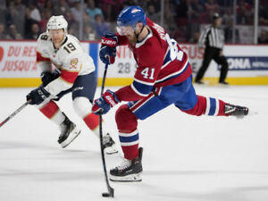 Florida Panthers vs Montreal Canadiens (Ce soir / Tonight)