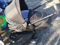 Silver Crest Pram and Buggy