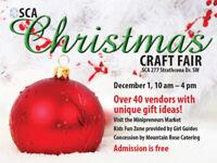 SCA CA Holiday Craft Fair